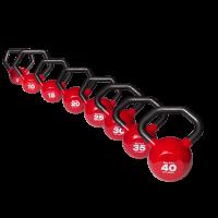 Body Solid Juego de Mancuernas Rusas Kettlebell Body Solid KBLS180 peso de  5,10, 15, 20, 25, 30, 35 y 40 Lbs.