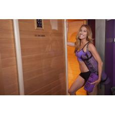 HotWorx® Cabina para Hot Yoga Caliente