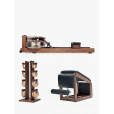 Combo Gimnasio Residencial  Tri-Wood | WaterRower-NOHrD CLASSIC