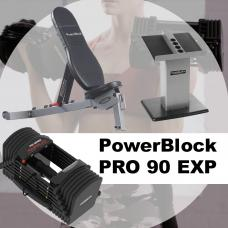 Combo PRO 90 EXP PB  Incluye Sportbench y  Large Column Stand